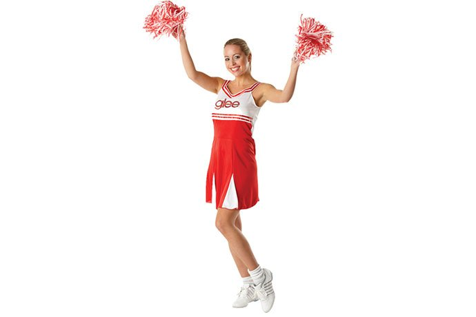 Cheerleader Costume for an American Fancy Dress Party
