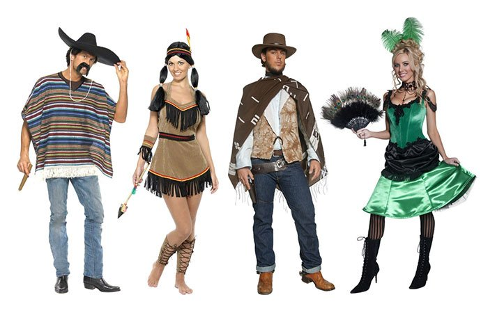 Cowboys & Indians Costumes for an American Fancy Dress Party