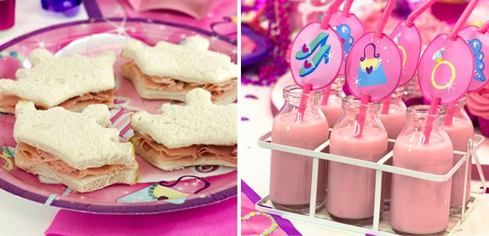Themed Food Ideas for a Princess Themed Party