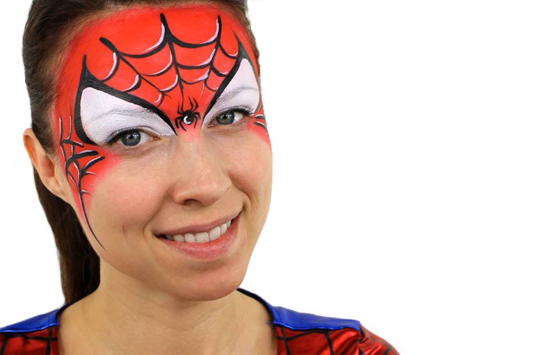 Spider man face paint ideas easy tutorial party delights blog spider man face paint ideas solutioingenieria Gallery