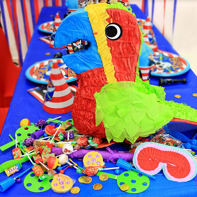 Parrot Piñata for Kids' Birthday Party