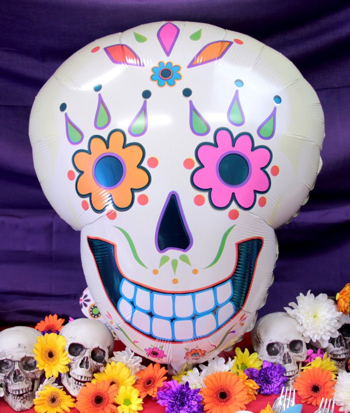 Day of the Dead Balloon