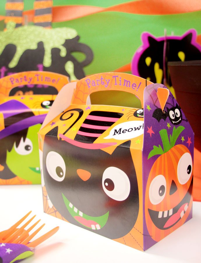 Halloween Party Boxes