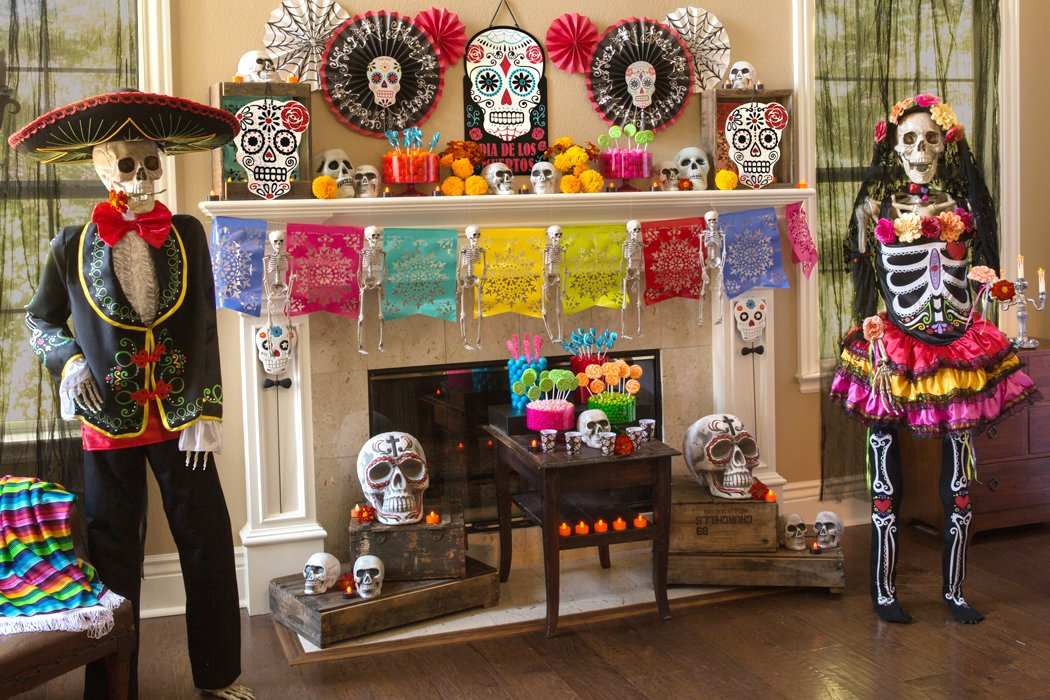 Halloween Theme Party Ideas.Throw The Ultimate Day Of The Dead Party Party Delights Blog