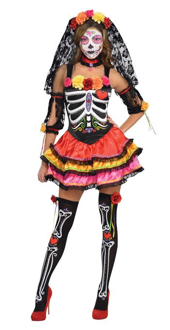 Day of the Dead Señorita Halloween Costume