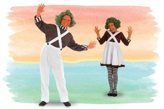 Oompa Loompa Costume Ideas