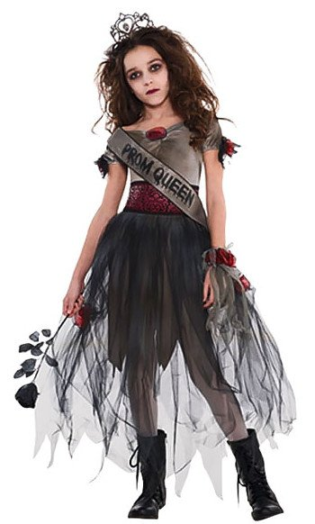 Prombie Queen Girls Halloween Costume