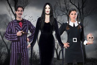 Addams Family Fancy Dress Ideas