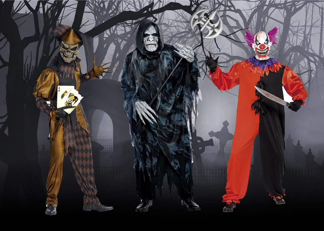 best scary halloween costumes | party delights blog