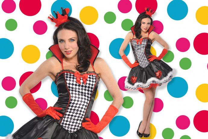 Children in Need Queen of Hearts Costume