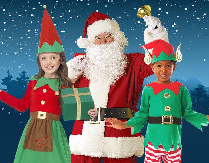 Christmas Fancy Dress Costumes