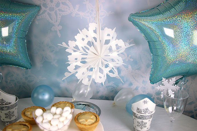 How To Throw A Magical Winter Wonderland Party Party