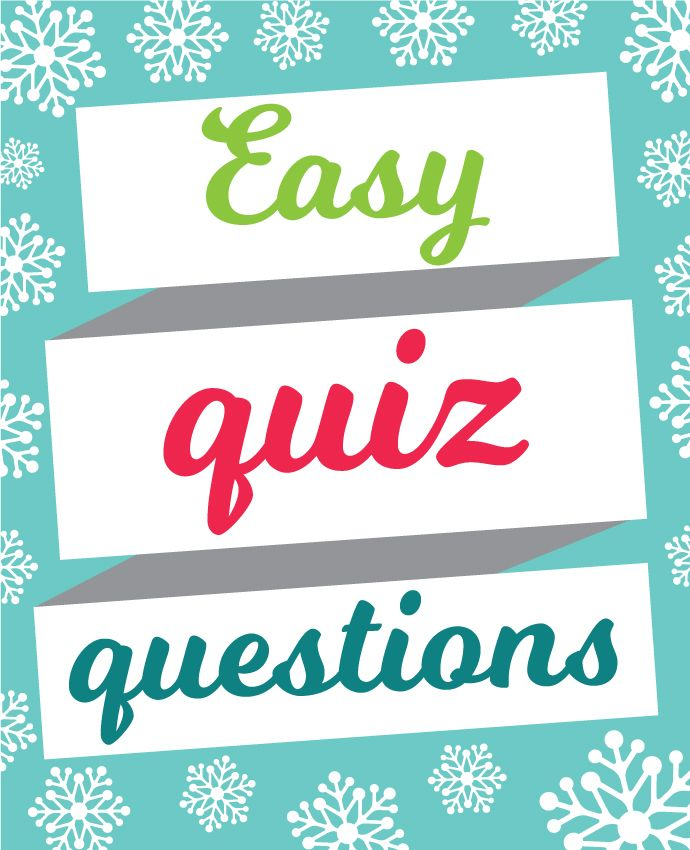 Easy Christmas quiz questions