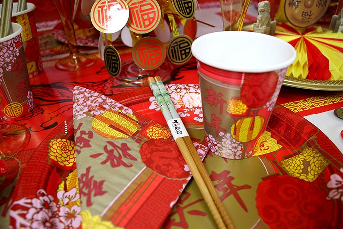 Chinese New Year Partyware