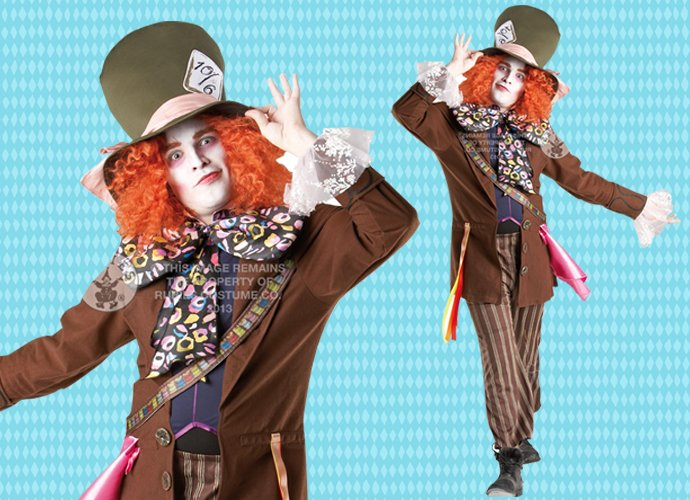mad hatter book character costume for teachers party delights blog
