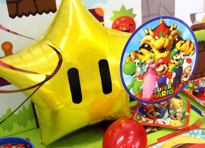 Super Mario Star Balloon