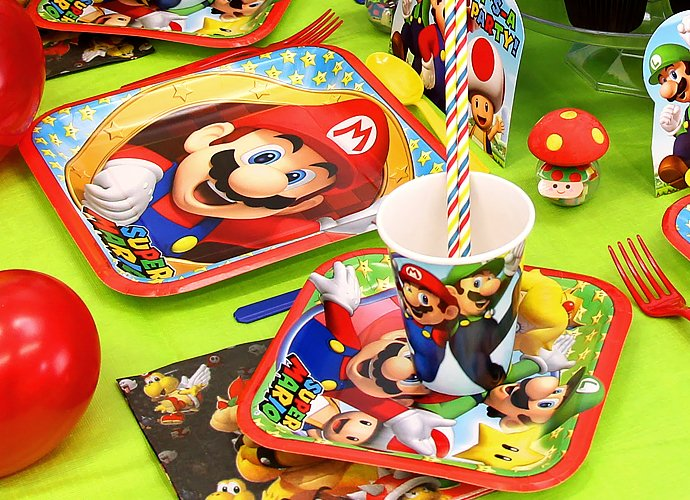 Super Mario Tableware