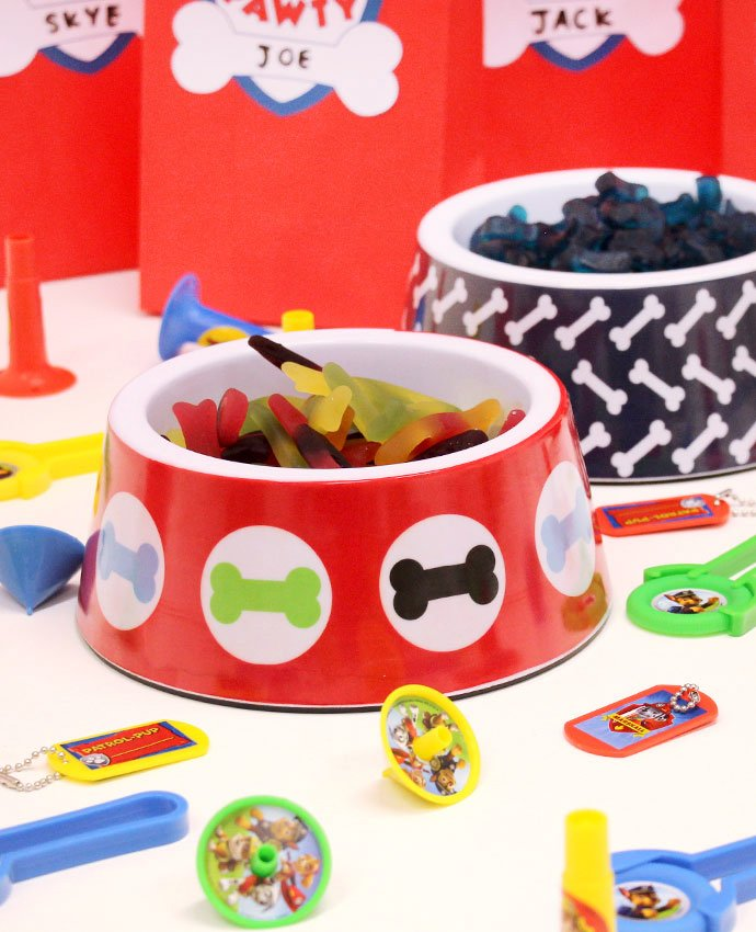 Paw Patrol Party Dog Bowl