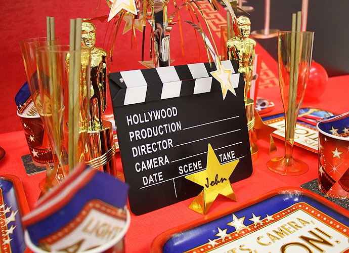 Movie Party Ideas Hollywood Party Theme Party Delights