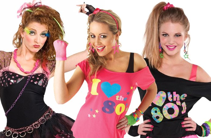 Marvelous 80s Group Costume