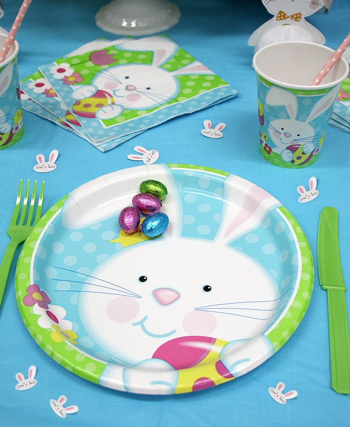 Easter Bunny Partyware
