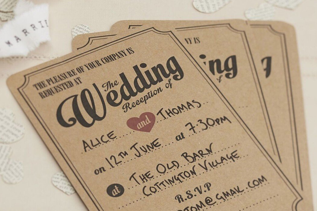 When to Send out Wedding Invitations | Party Delights Blog
