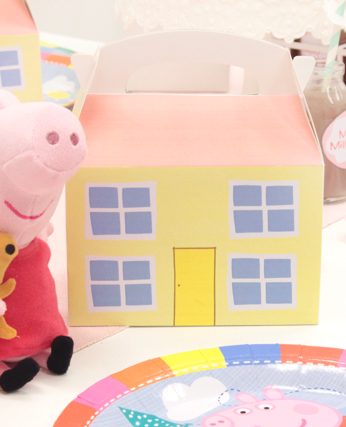 Peppa Pig House Party Boxes