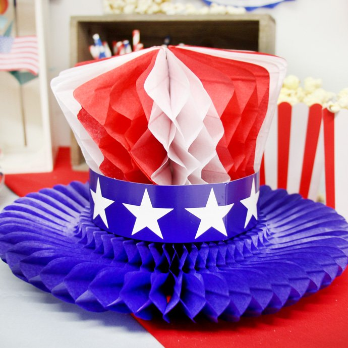 4th July Table Centrepiece