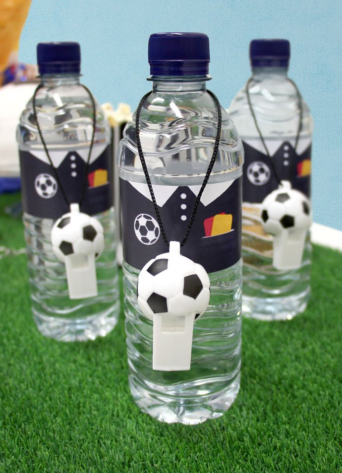Football Water Bottle Printables