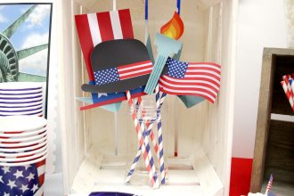 Free Printable Fourth of July Photo Props