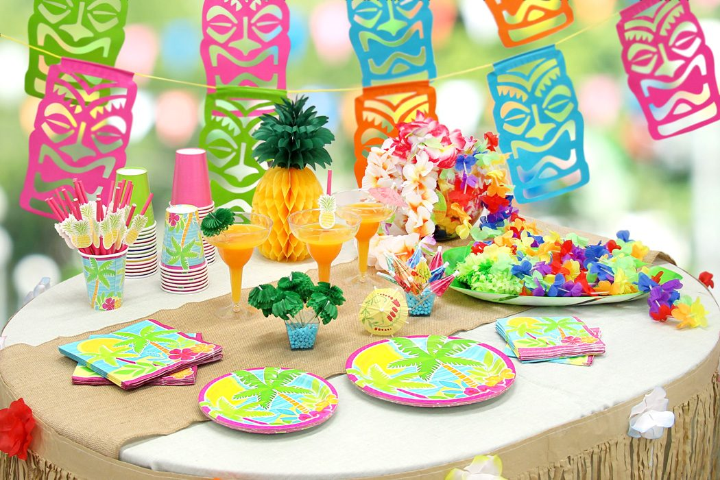 Tiki Tastic Hawaiian Party Ideas Party Delights