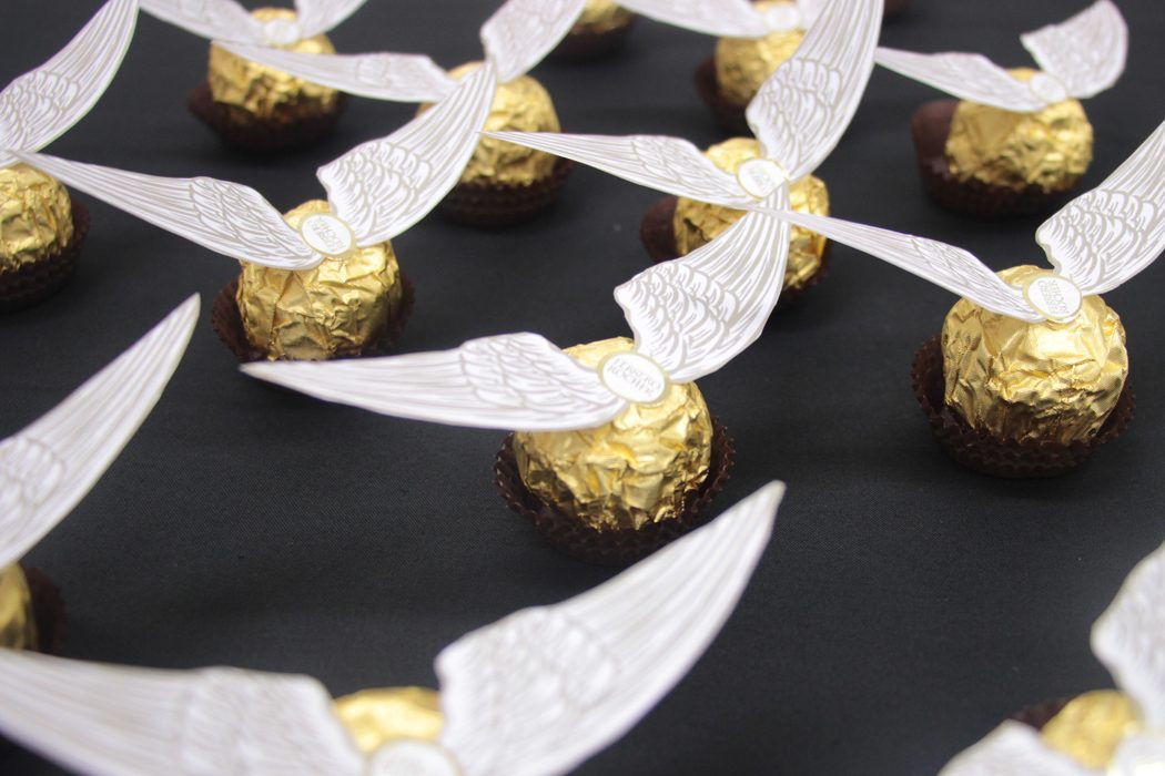 Ferrero Rocher Golden Snitches Free Printables