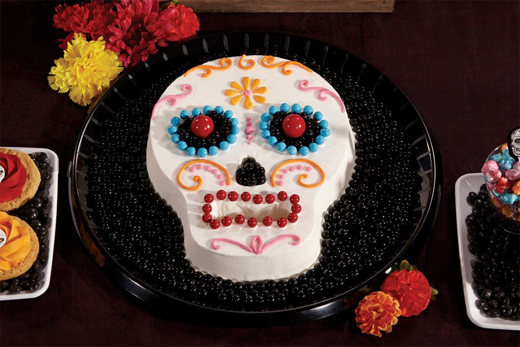 Day Of The Dead Cake Decorations