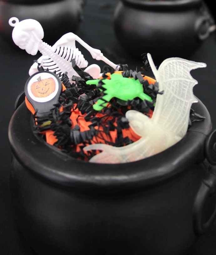 Witch's Cauldron with Toys