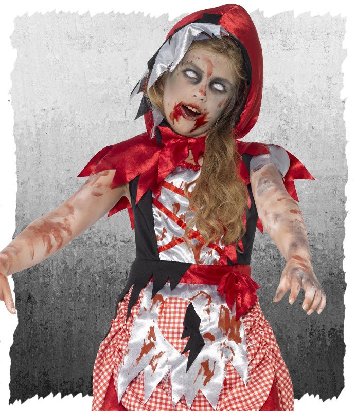Zombie Little Red Riding Hood Halloween Costume