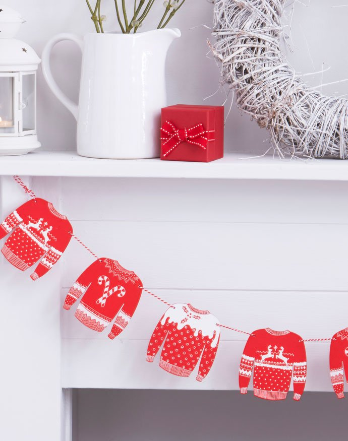 Christmas Jumper Day Party Bunting
