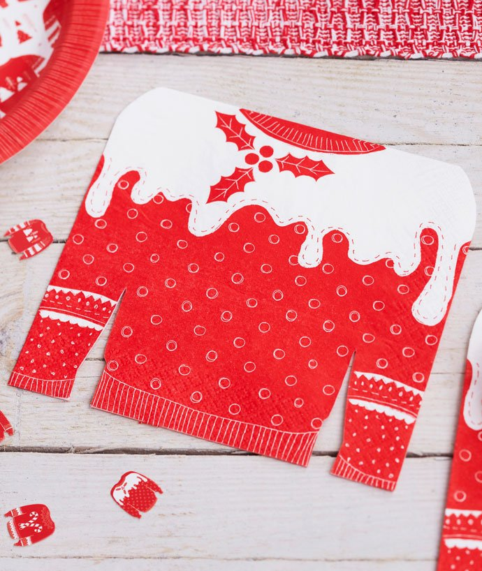 Christmas Jumper Day Party Napkins