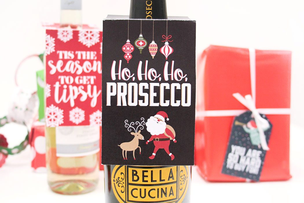 Free Christmas Wine Bottle Tags Party Delights Blog