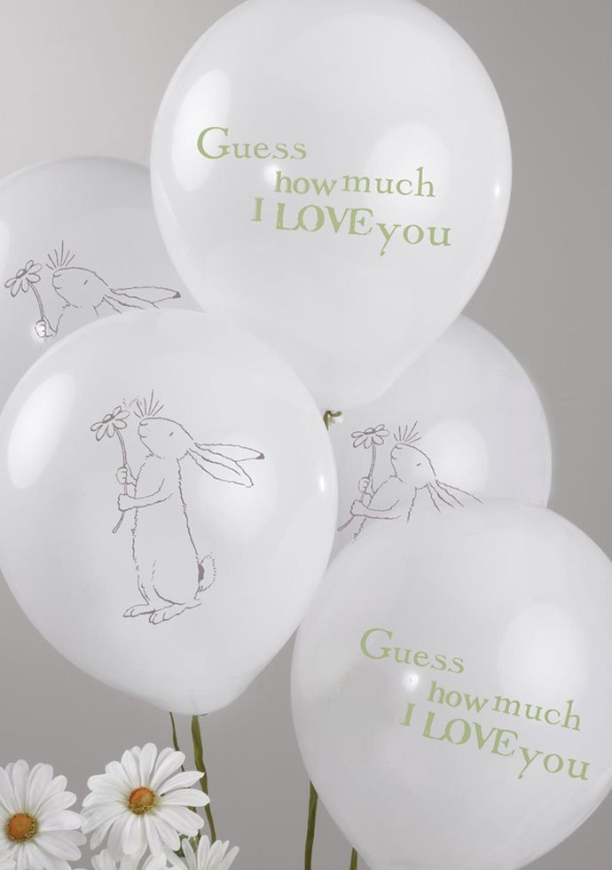 Guess How Much I Love You Balloons