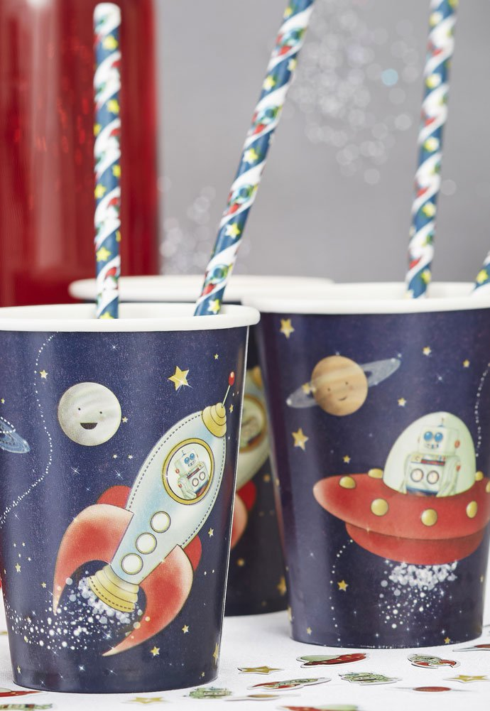 Outer Space Party Cups
