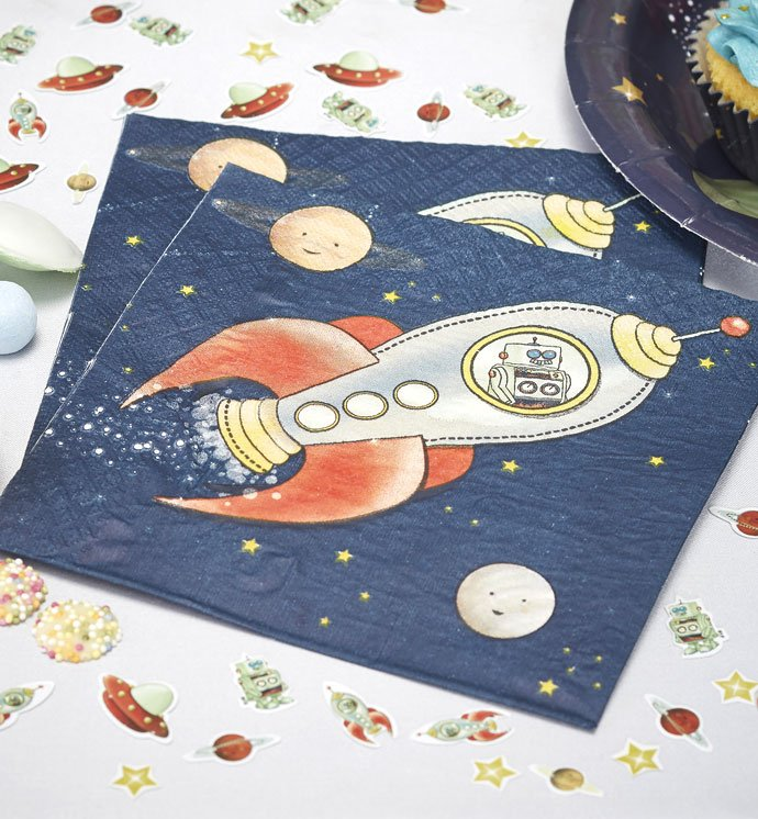 Outer Space Party Napkins