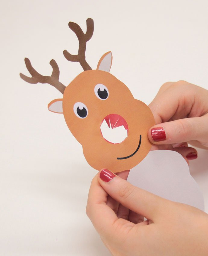 picture relating to Printable Reindeer Face named Free of charge Printable Reindeer Lollipop Addresses Occasion Delights Weblog