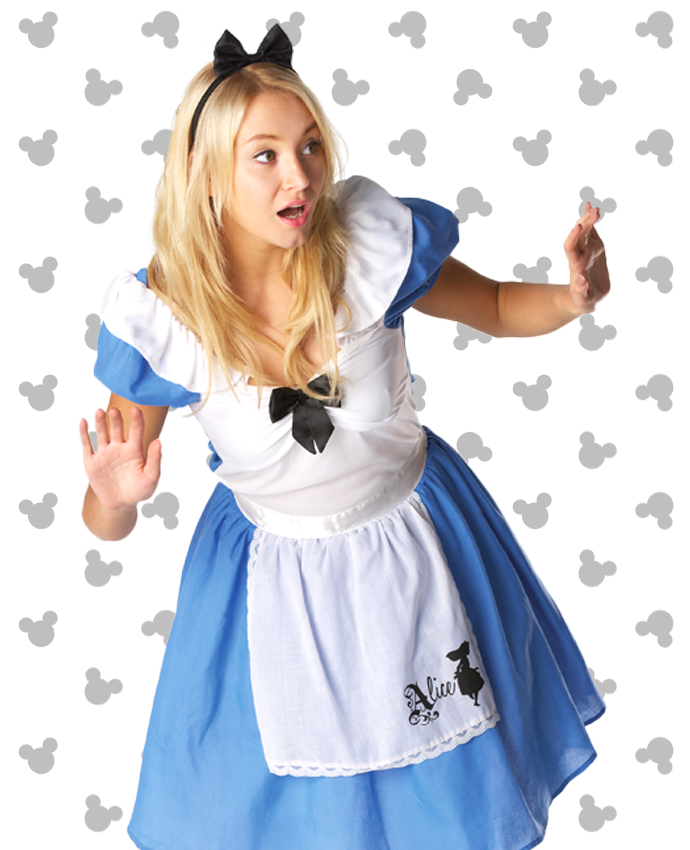 Alice in Wonderland Costume for Adults