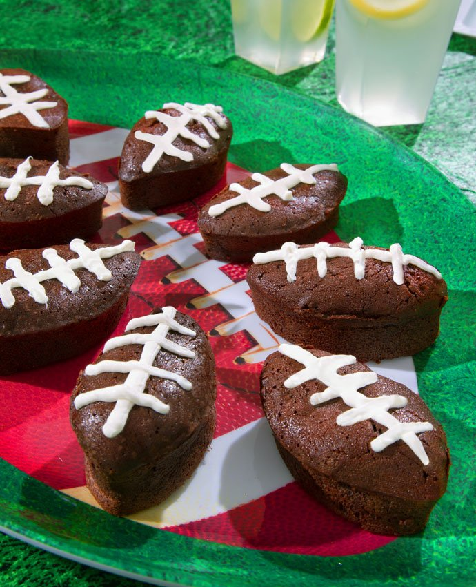 American Football Brownies