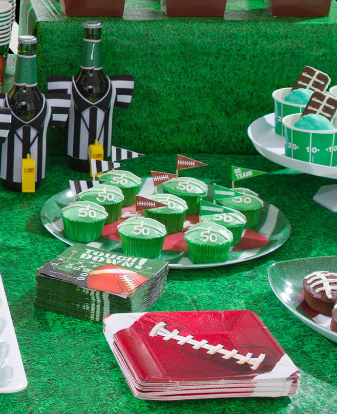 American Football Cakes