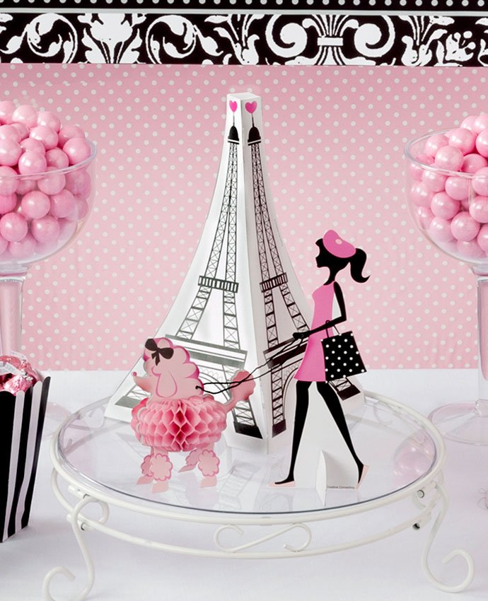 Eiffel Tower Table Centrepiece
