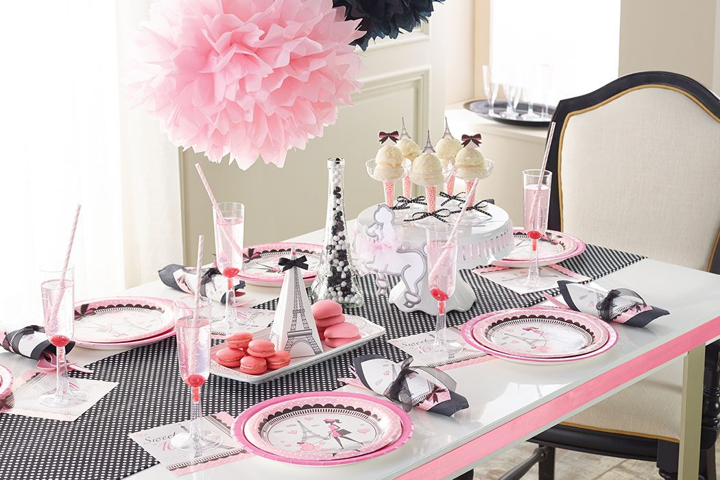 How To Plan The Perfect Paris Themed Party Party Delights Blog