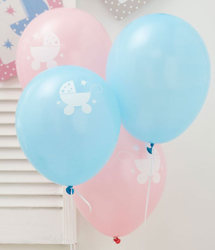 Pink And Blue Baby Shower Ideas Party Delights Blog