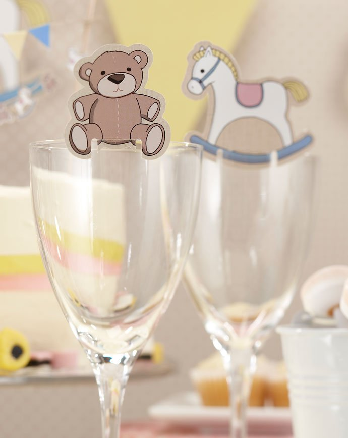 Rock-A-Bye Baby Glass Decorations