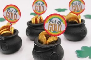 St Patrick's Day Pot of Gold Party Favours